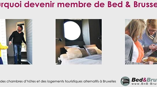 Affiliez-vous à la fédération Bed & Brussels