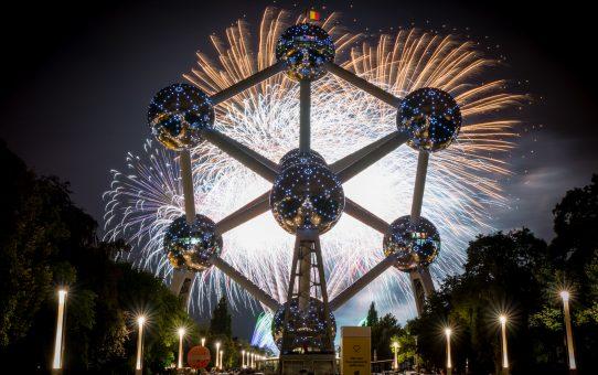 L'Atomium, plus de  650.000 visteurs pour l'année 2019, le 3ème meilleur record !